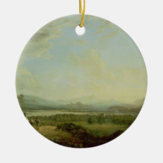 A View of the Town of Stirling on the River Forth Christmas Ornament