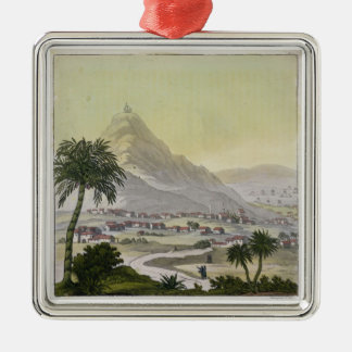A view of the township of Lima, Peru, from 'Le Cos Christmas Ornament