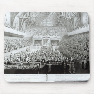 A View of The Trial of Warren Hastings Mouse Pad