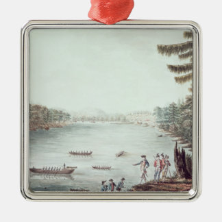 A View of Ticonderoga from a point Christmas Ornament