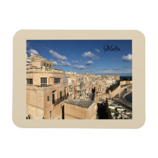 A view of Valletta, Malta by Sun, Moon, & Etoiles Magnet