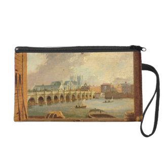 A View of Westminster Bridge (oil on panel) Wristlet