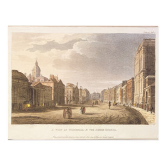 A View of Whitehall and The Horse Guards Postcard
