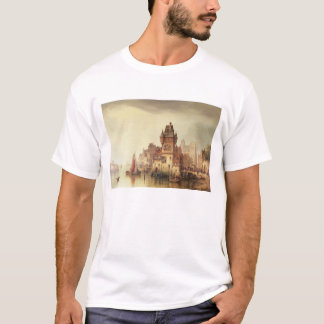 A View on the River, Dordrecht, 1879 (oil on canva T-Shirt