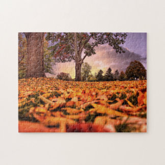 A View Through the Leaves Jigsaw Puzzle