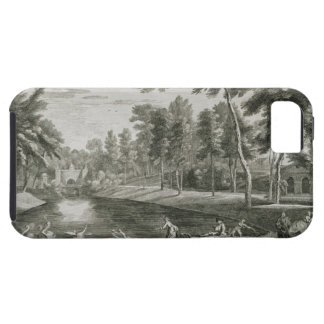 A View to the Grotto of the Serpentine River in th Tough iPhone 5 Case