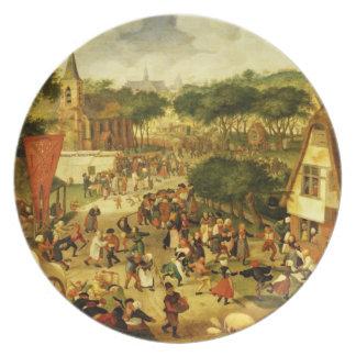 A Village Fair Dinner Plates