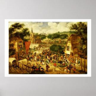 A Village Fair Poster