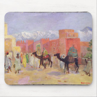 A Village in the Atlas Mountains Mouse Pad