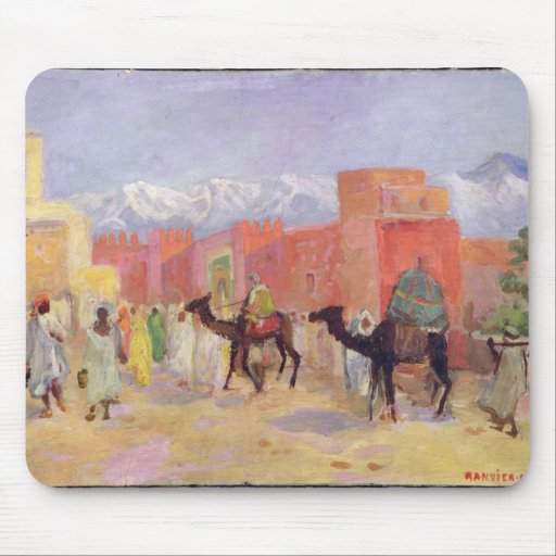 A Village in the Atlas Mountains Mouse Pads