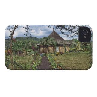 A village in the Highlands, Goroka, Papua New iPhone 4 Case