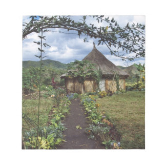 A village in the Highlands, Goroka, Papua New Notepad