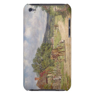A Village Scene (oil on canvas) iPod Touch Cover