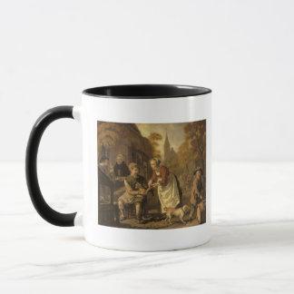 A Village Scene with a Cobbler, c.1650 Mug