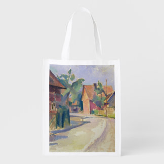 A Village Street Reusable Grocery Bag