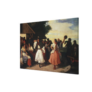 A Village Wedding Feast Gallery Wrapped Canvas