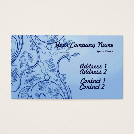 A Vintage Abstract 3 Business Card