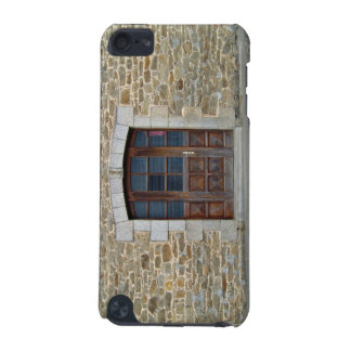 A vintage door and window  in stone wall iPod touch (5th generation) cover