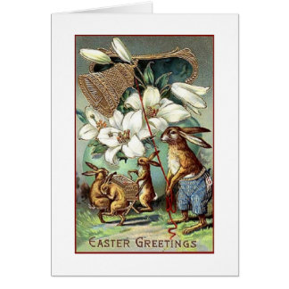 A Vintage Easter Celebration Card