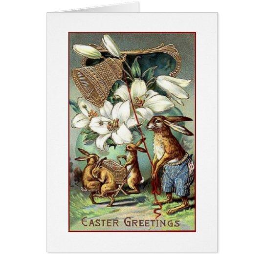A Vintage Easter Celebration Card