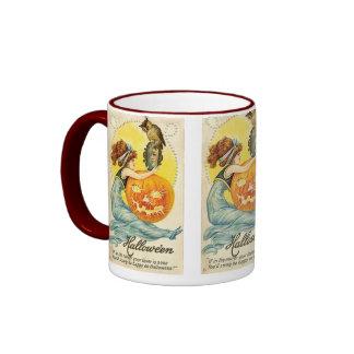 A Vintage Holiday *Happy Halloween* Coffee Mug