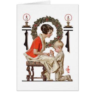 A Vintage J.C.Leyendecker Christmas card