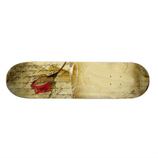 A Vintage Love Letter Skate Deck