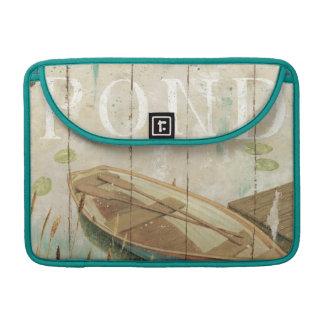 A Vintage Pond MacBook Pro Sleeves