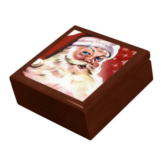 A Vintage Santa Gift Box