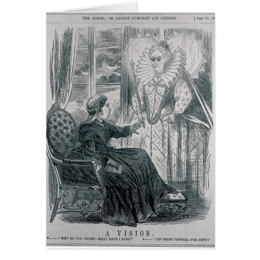 A Vision, 1868 Greeting Cards