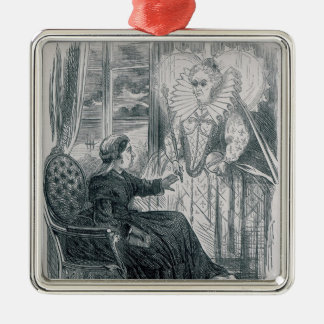 A Vision, 1868 Christmas Ornament