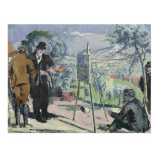 A Visit to the House of Cezanne Postcard