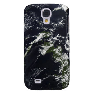 A volcanic plume from the Rabaul caldera Galaxy S4 Case
