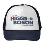 A Vote For Higgs-Boson Is A Vote For God! Cap