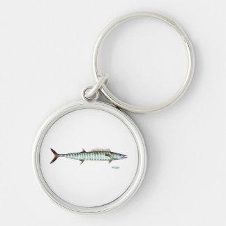 A Wahoo fish keychain keyring