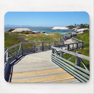 A walk down to Boulders Beach, South Africa Mouse Pad
