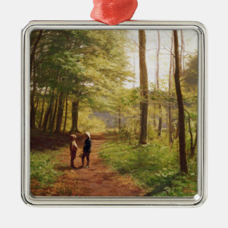 A Walk in the Forest Christmas Ornament