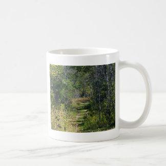 A Walk In The Woods Basic White Mug