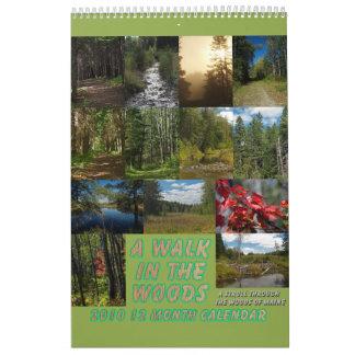 A Walk In The Woods Calendars