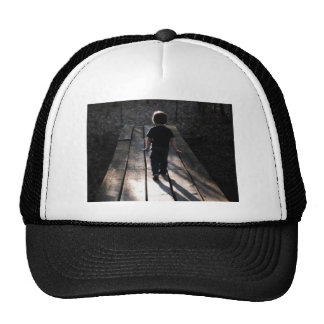 A walk in the woods mesh hat