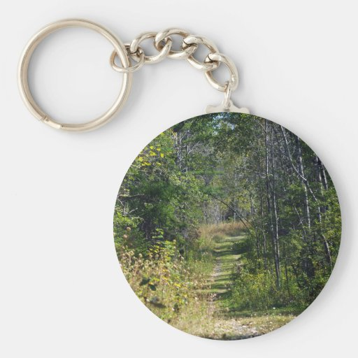 A Walk In The Woods Key Chains