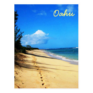A Walk on Oahu Postcard