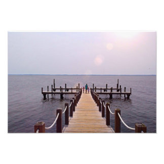 A Walk on the Dock Photo Print