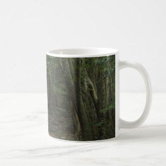A walk through the woods basic white mug