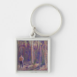 A Walk Through the Woods Keychain Key Chain