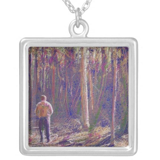 A Walk Through the Woods Necklace Jewelry