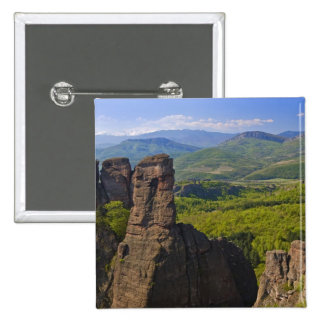 A walk throught Belogradchik Castle Ruins 2 15 Cm Square Badge