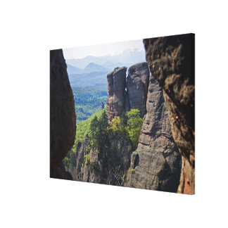 A walk throught Belogradchik Castle Ruins 2 Canvas Print