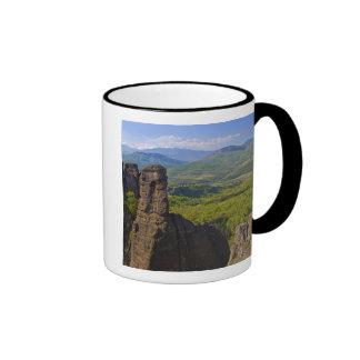 A walk throught Belogradchik Castle Ruins 2 Ringer Coffee Mug