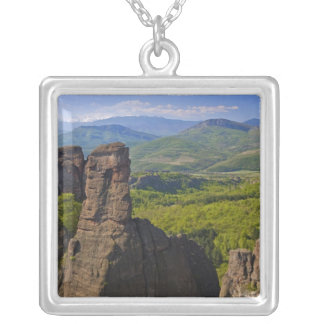 A walk throught Belogradchik Castle Ruins 2 Silver Plated Necklace